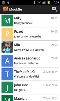 MooMle SMS apk screenshot