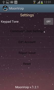 MoonVoip apk screenshot