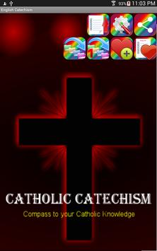 English Catechism Book poster
