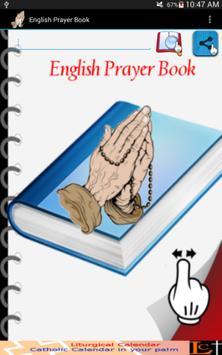 English Prayer Book poster