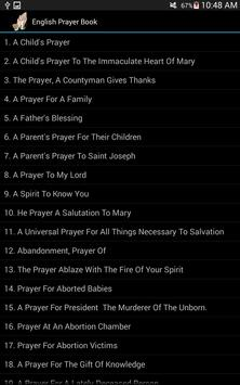 English Prayer Book apk screenshot