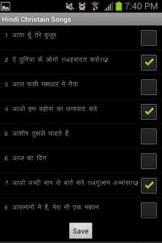 Hindi Christian Song Book apk screenshot