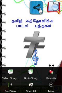 Tamil Catholic Song Book poster
