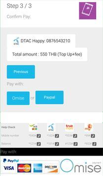 Mobile Top Up Thailand apk screenshot