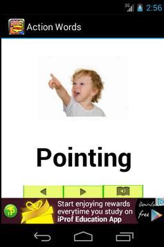 Preschool Kids Action Words apk screenshot