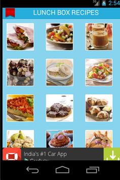 KIDS LUNCH BOX RECIPES poster