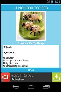 KIDS LUNCH BOX RECIPES apk screenshot