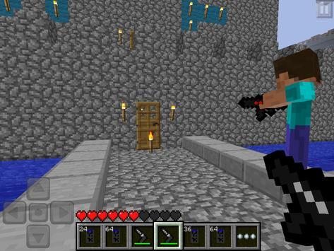 Gun Mods MCPE poster