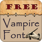 Vampire Fonts for S3 icon