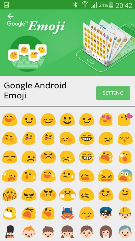 how to change emoji style on android without root