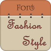 Free Fonts for Fashion Style icon