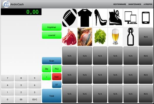 Caisse Enregistreuse pro. apk screenshot