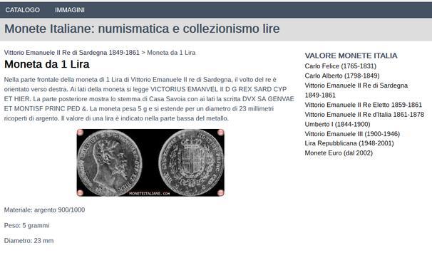Monete Italiane - Numismatica poster