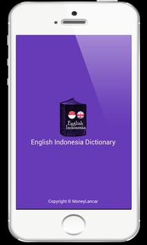 English Indonesia Dictionary poster