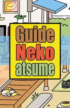 Guide for Neko Atsume poster