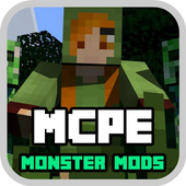 Monster Mods For MCPE NEW! icon