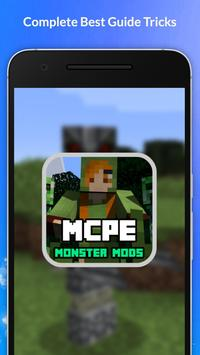 Monster Mods For MCPE NEW! poster