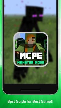 Monster Mods For MCPE NEW! apk screenshot