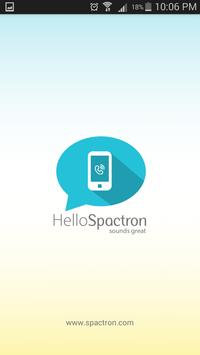 Spactron-International calls poster