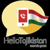 Hello Tajikistan, Let's call icon