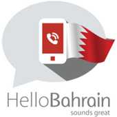Hello Bahrain, Let's call icon
