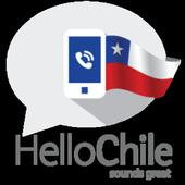 Hello Chile, Let's call icon