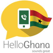 Hello Ghana, Let's call icon
