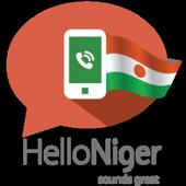 Hello Niger, Let's call icon