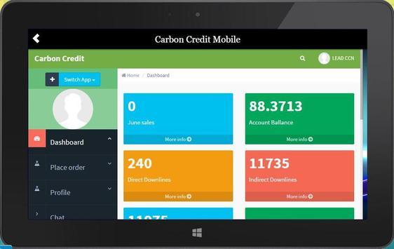 My Carbon Credit apk screenshot