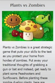 Guide For Plants vs Zombies poster