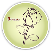 How To Draw A Rose icon