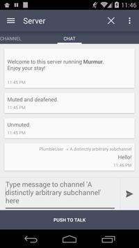 Plumble - Mumble VOIP (Free) apk screenshot