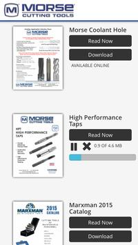 Morse Cutting Tools poster