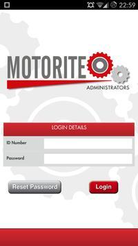 Motorite Administrators apk screenshot