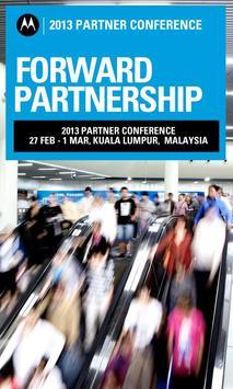 Motorola Forward Partnership poster