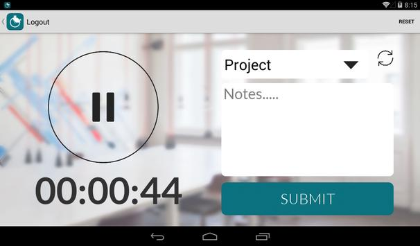 Motiv Time Tracker apk screenshot