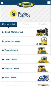 Spectra Precision Lasers App apk screenshot