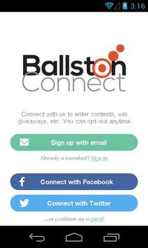 BallstonConnect poster