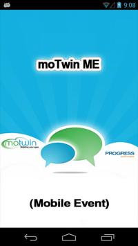 moTwin ME (Mobile Event) poster