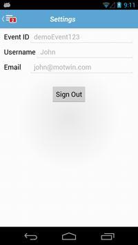 moTwin ME (Mobile Event) apk screenshot