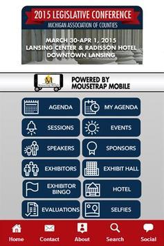 MAC Legislative Conference App poster