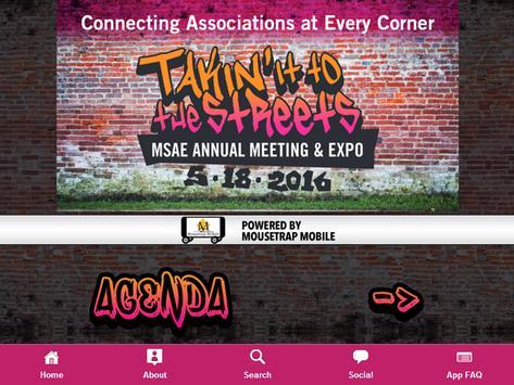 MSAE Conference apk screenshot