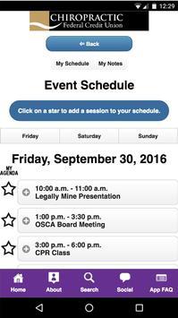 OSCA Conference apk screenshot