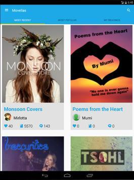 Movellas Stories & Fanfiction apk screenshot