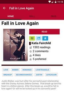 Badboy Bieber Fanfiction apk screenshot