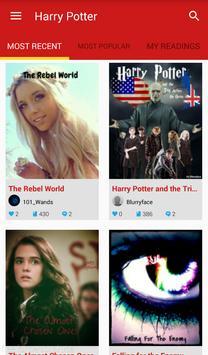 Harry Potter Fan Fiction poster