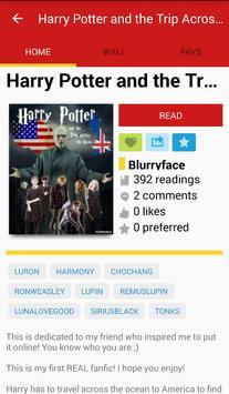 Harry Potter Fan Fiction apk screenshot