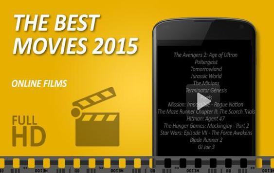 Free movies releases hd online apk screenshot