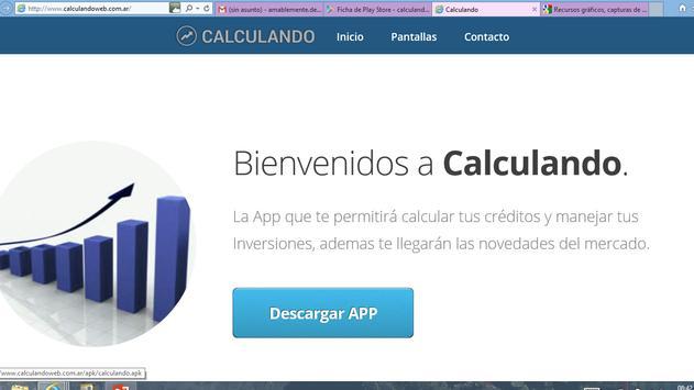calcular prestamo e inversion apk screenshot