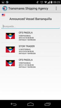 Transmares Shipping Agency apk screenshot